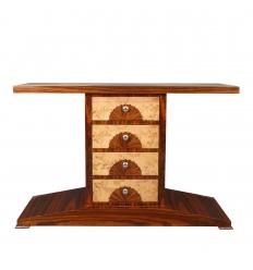4-drawer art deco console