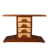 Art Deco Konsole mit 4 Schubladen - Art-Deco-Konsole