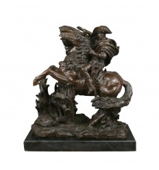 Escultura en bronce de Napoleon