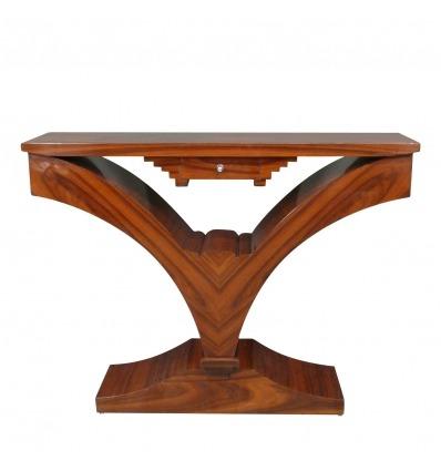 Art deco rózsafa bútor art deco konzolasztal.