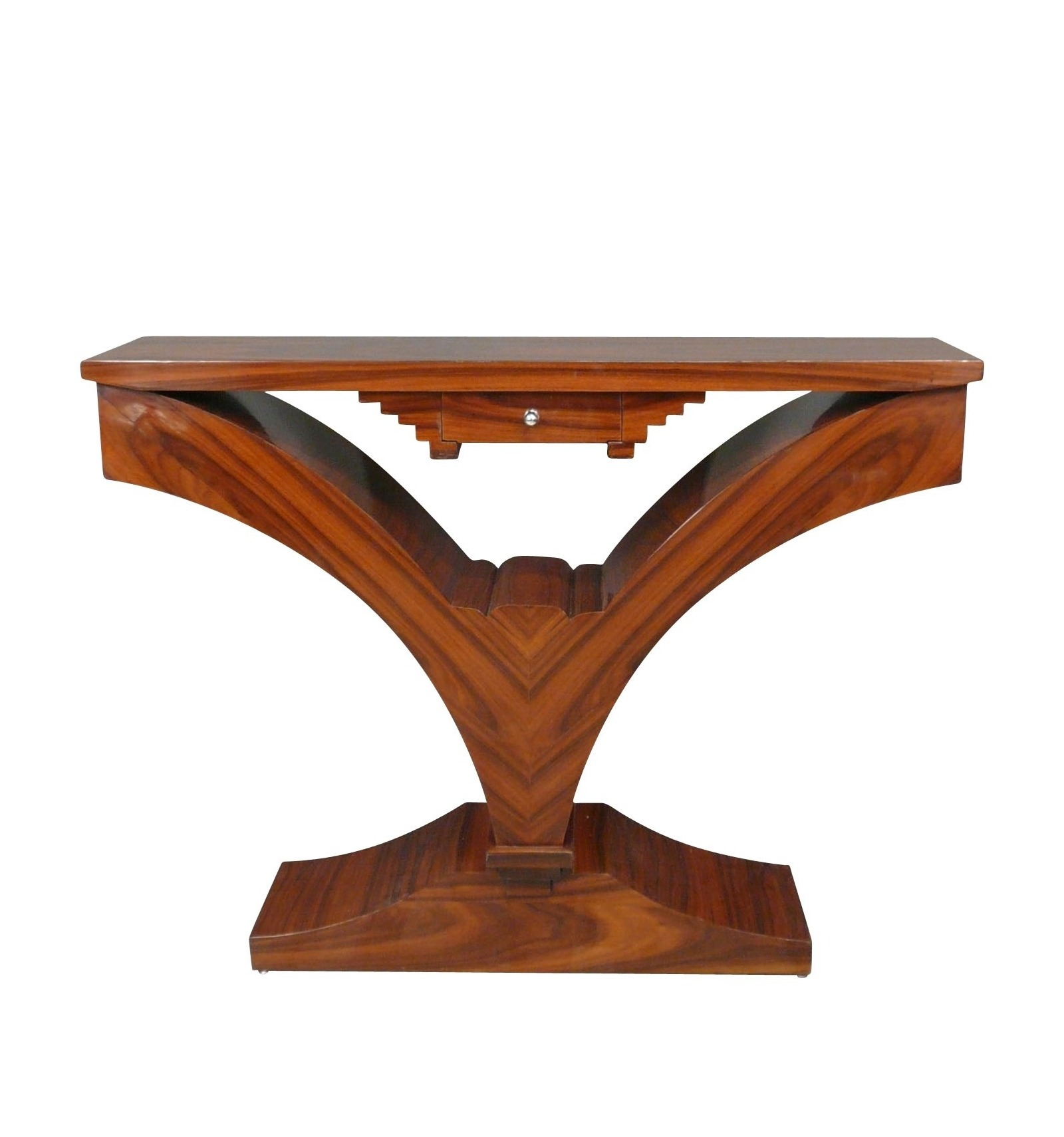 Console art deco rosewood, art deco Furniture.