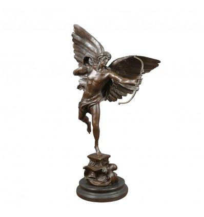 Escultura de bronce - Arcángel
