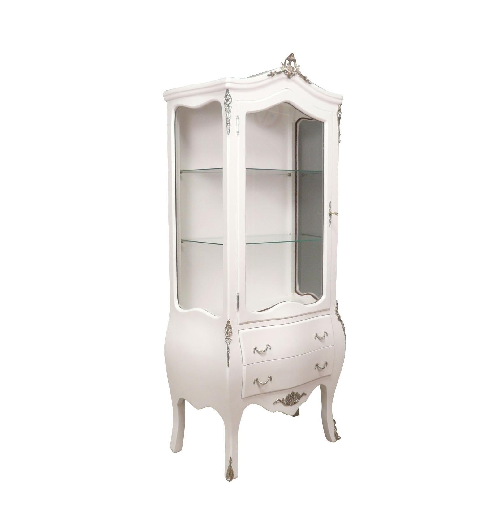 vitrine baroque blanche mobilier baroque. Black Bedroom Furniture Sets. Home Design Ideas