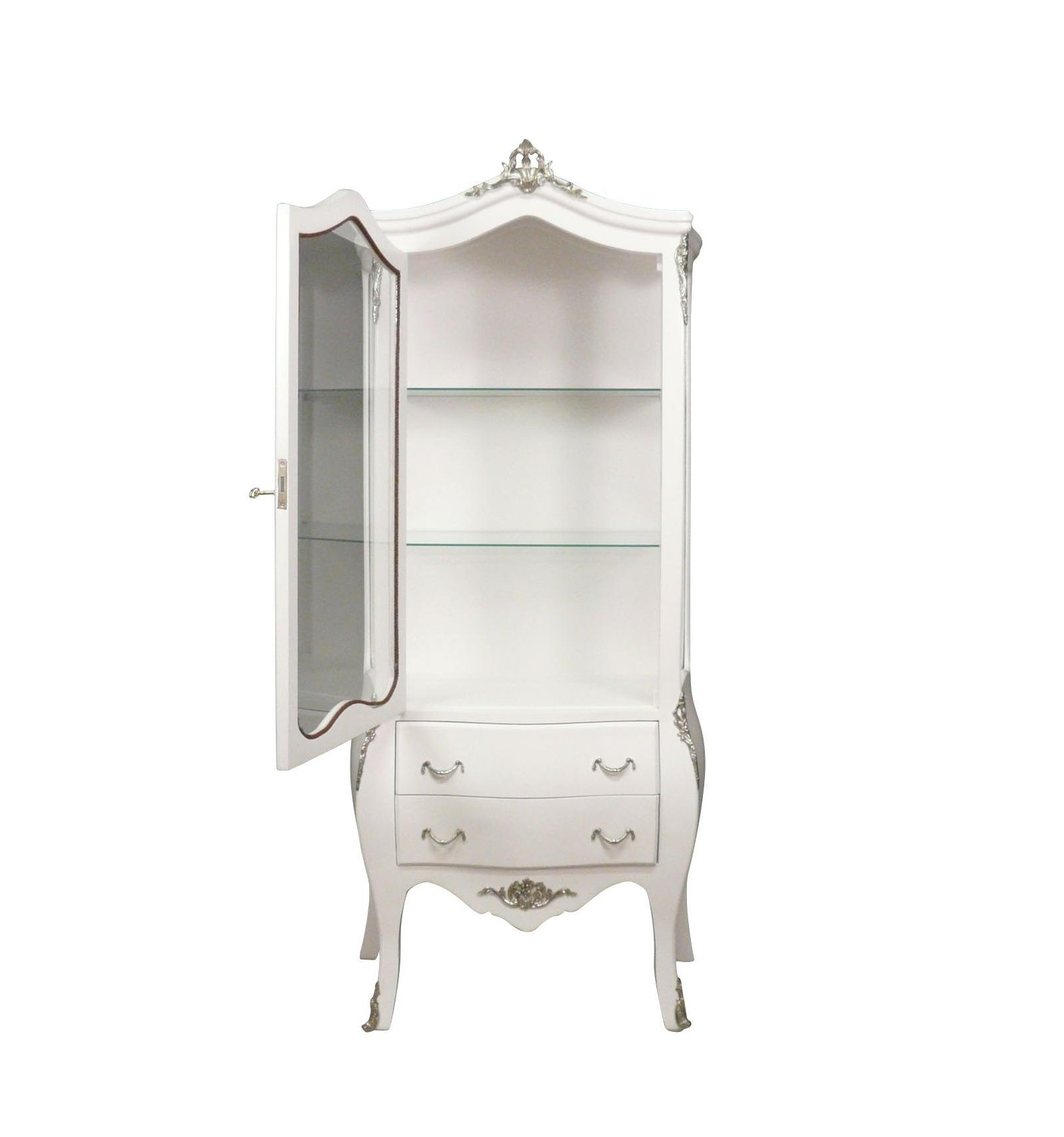 wei e barocke showcase eingerichtet stuhl und stuhl. Black Bedroom Furniture Sets. Home Design Ideas