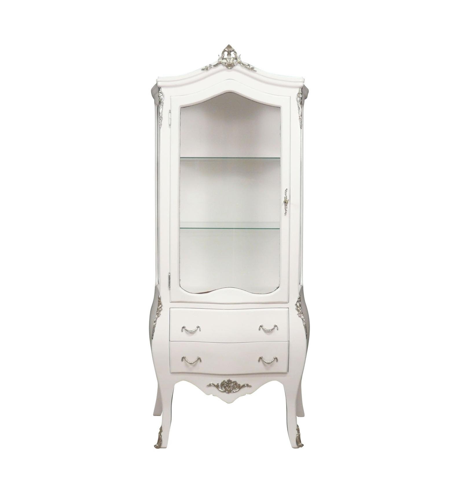 Vitrine baroque blanche meuble fauteuil et chaise de style - Meuble style baroque pas cher ...