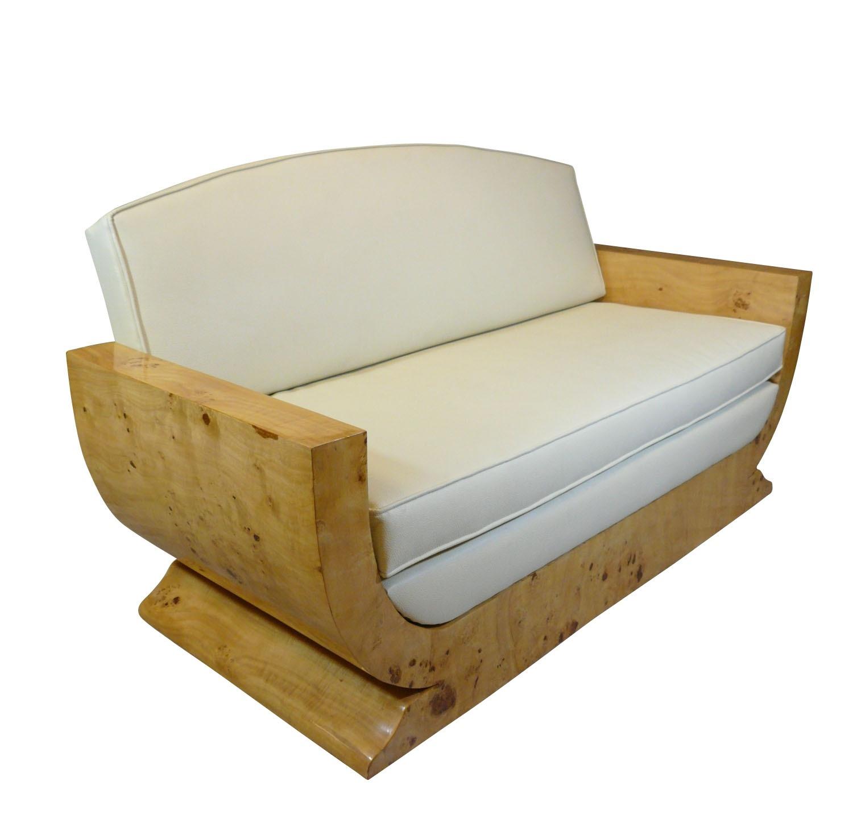 htdeco canap art d co ebay. Black Bedroom Furniture Sets. Home Design Ideas