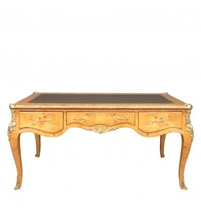 Nagy íróasztal a nagyító Elm Louis XV.