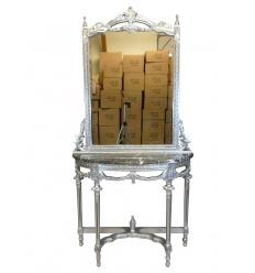 Console baroque avec miroir