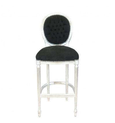 Baroque bar chair Louis XVI style