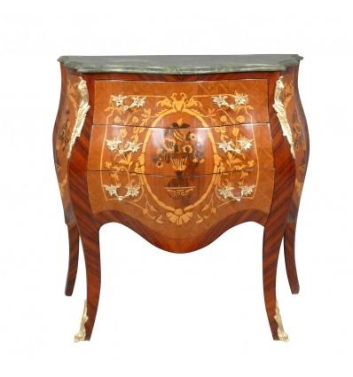Cajonera Luis XV y mueble de almacenaje para la habitación. -