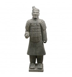 Chinese infantry warrior statue 185 cm
