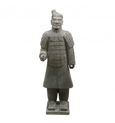Chinese warrior statue 185 cm life size -
