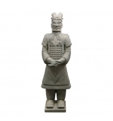 Chinesische General Warrior Statue 100 cm