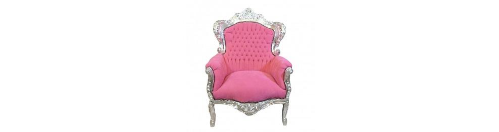 Fotel barokowy królewski