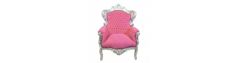 Royal baroque armchair