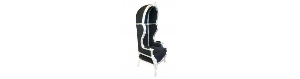 Baroque armchair coach