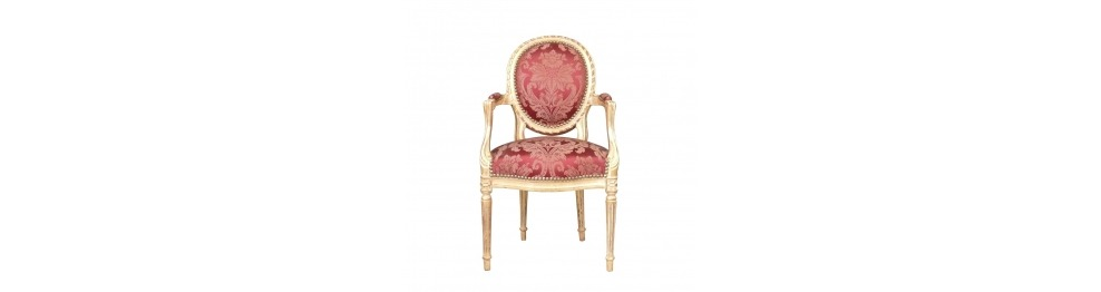 Baroque Louis XVI armchair