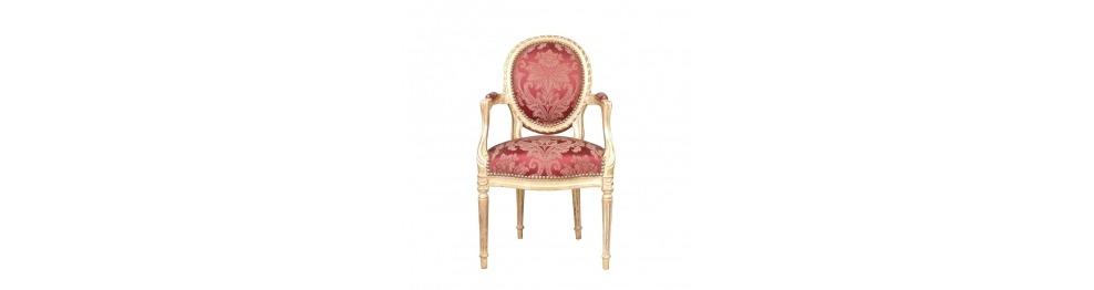 Fotel Louis XVI w stylu barokowy