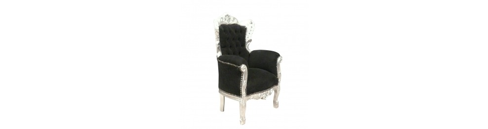 Armchair baroque child
