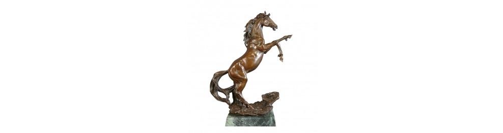 All bronze sculptures