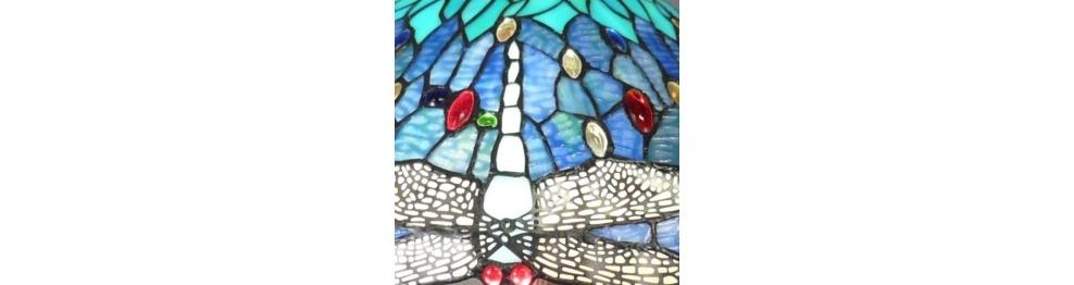 Gli Apparecchi Di Illuminazione Tiffany - Serie Mississippi