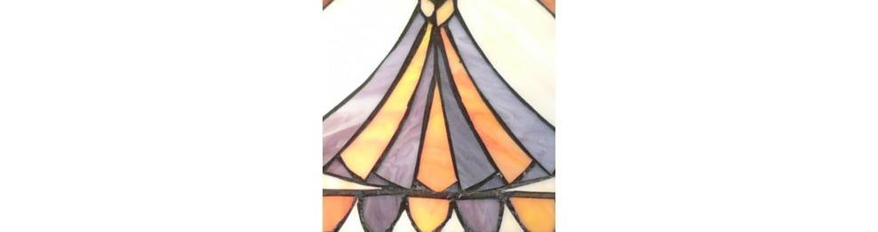 Lámpatestek Tiffany - Sorozat Alexandria