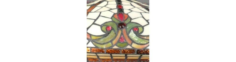 Gli Apparecchi Di Illuminazione Tiffany - Serie Indiana
