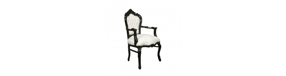 Classic Style Baroque Armchair