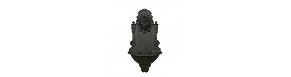 Cast iron fountain of garden