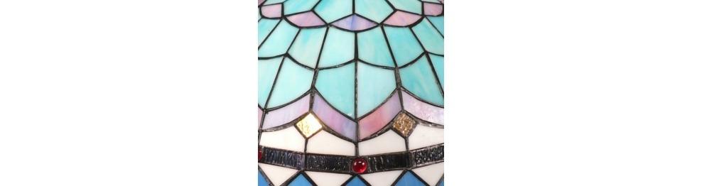 Luminárias Tiffany - Série Mediterrâneo