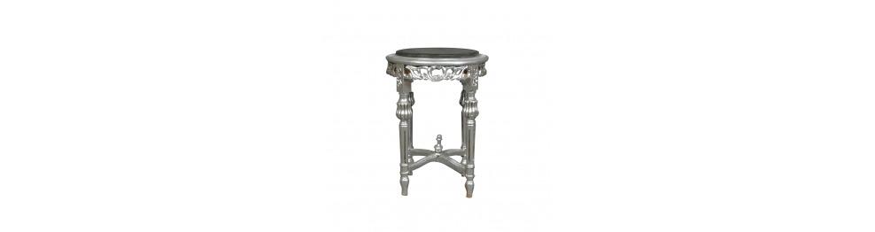 Pedestal bolster y barroco.