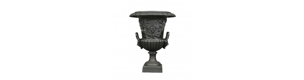 Medici cast iron vase without  base