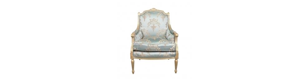 Louis XVI bergère armchair