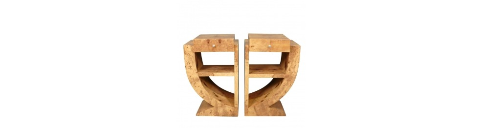 Art deco bedside table