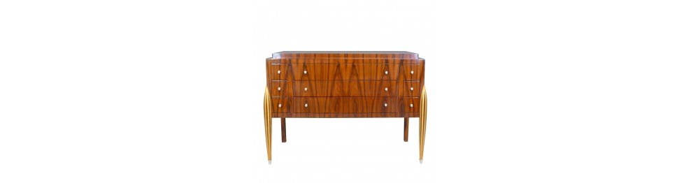 Chest of drawers art deco