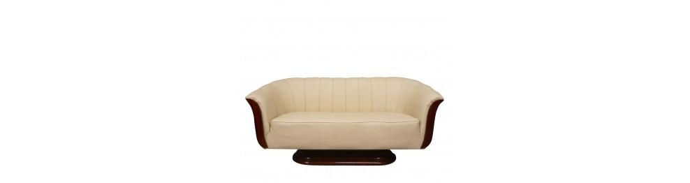 Sofá de estilo art deco