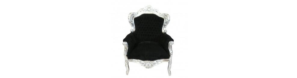 fauteuil baroque achetez des fauteuils rococo classiques. Black Bedroom Furniture Sets. Home Design Ideas