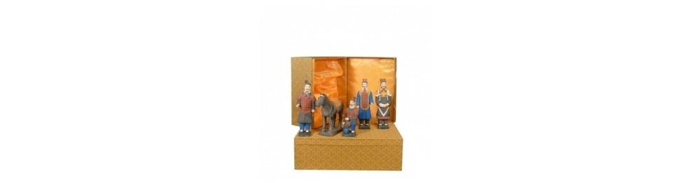 Cajas de lujo - Serie de estatuillas de guerreros Xian