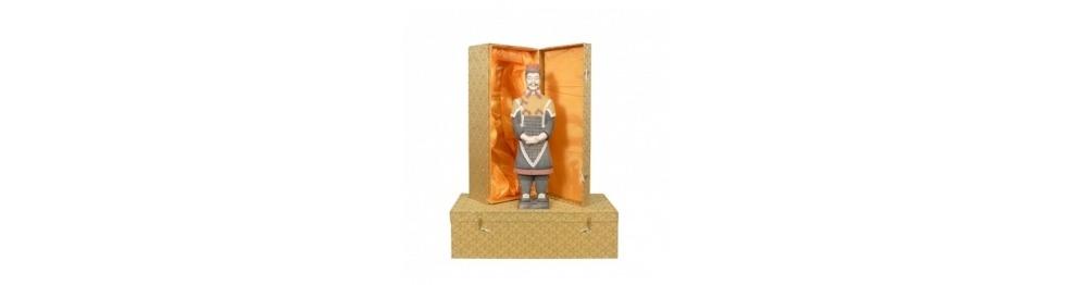 Estatuillas de guerreros chinos xian en 50 cm.