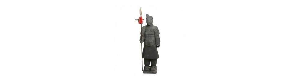 Estatuas de soldados en Xian de 100 cm