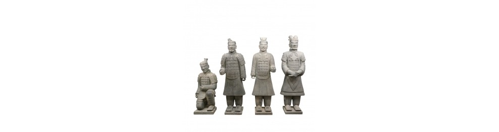Statuer af soldater Xian 120 cm