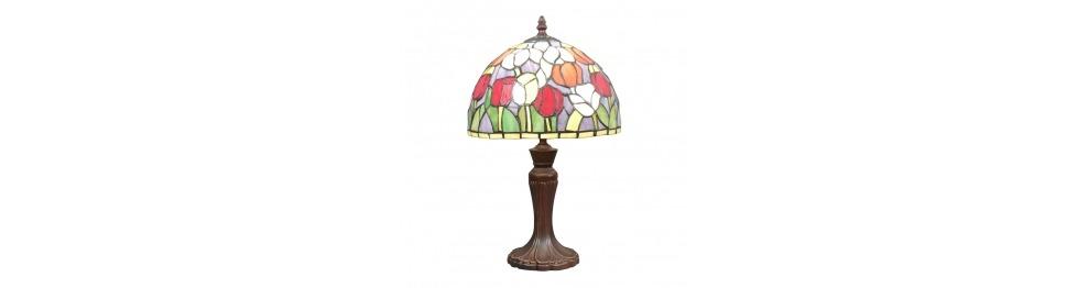 Tiffany lamppu - keskitaso