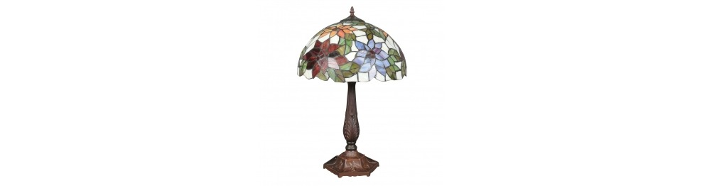 Lampa Tiffany - duża