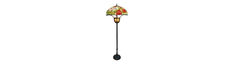 Lámparas de pie Tiffany