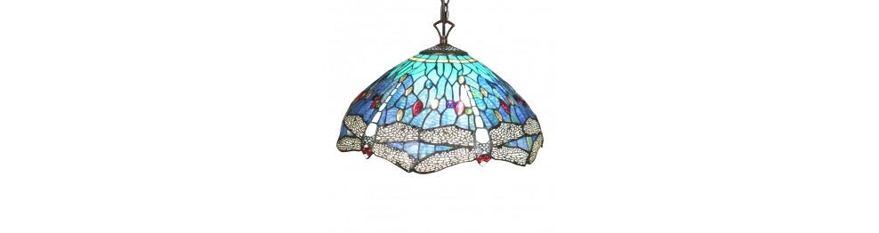 Lámparas de techo Tiffany