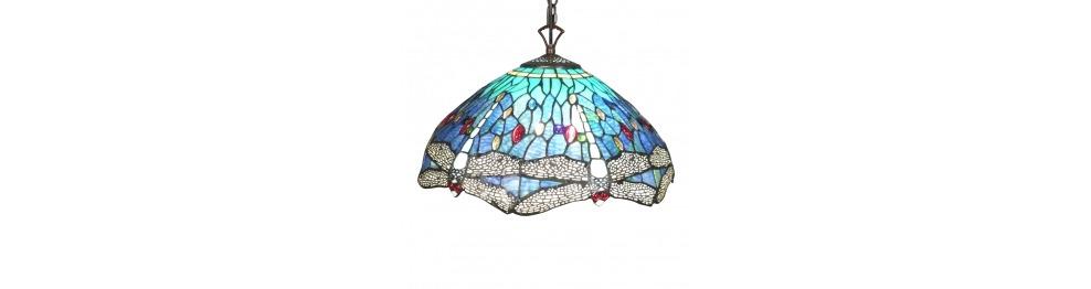 Lâmpadas Tiffany de janela