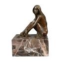 Statue di bronzo erotico