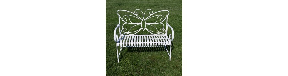 Bench wrought iron