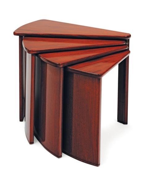 Table éventail art déco