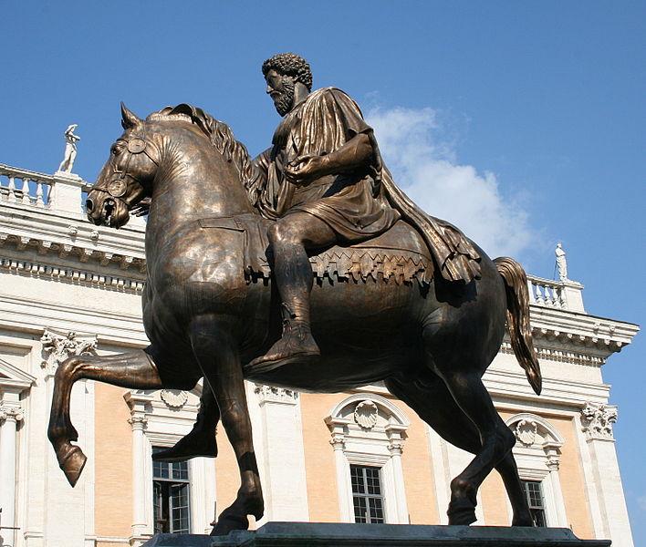 Statue en bronze de Marc Aurèle